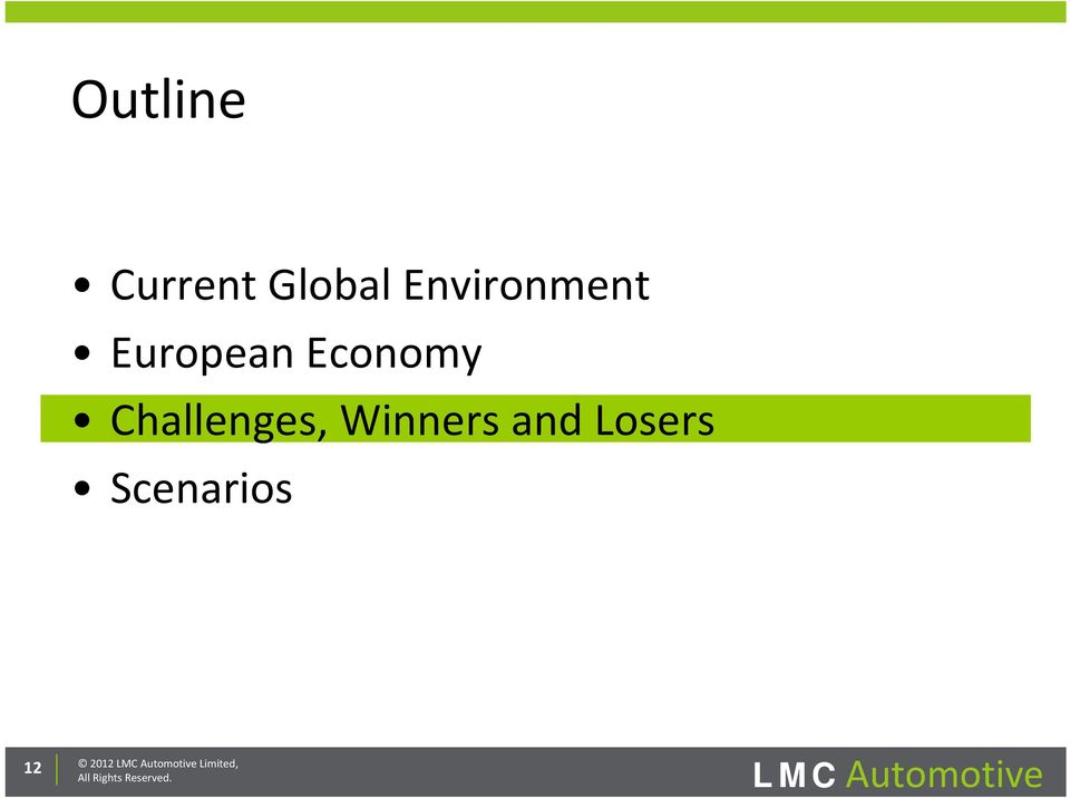 and Losers Scenarios 12 2012 LMC