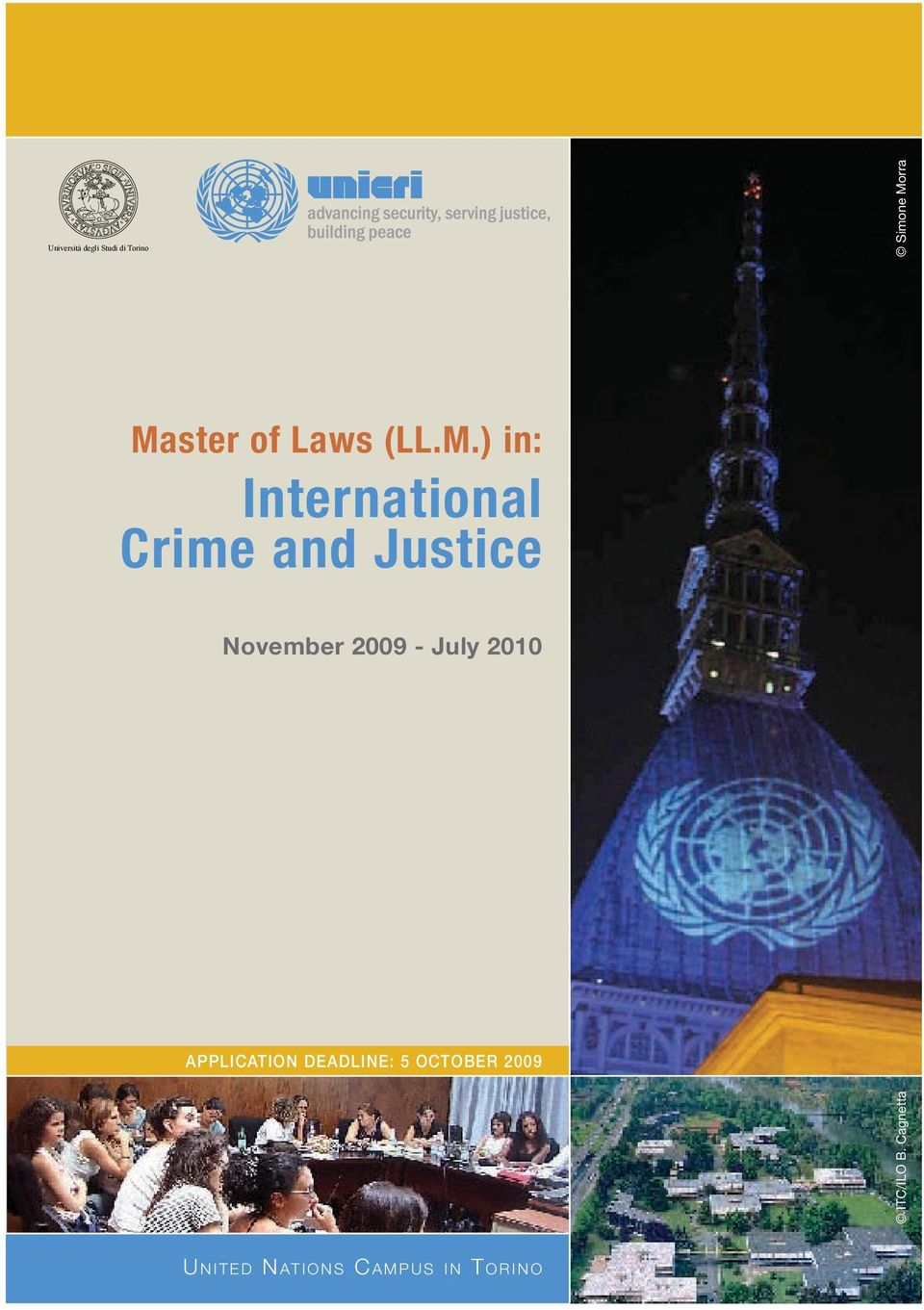) in: International Crime and Justice November 2009 -