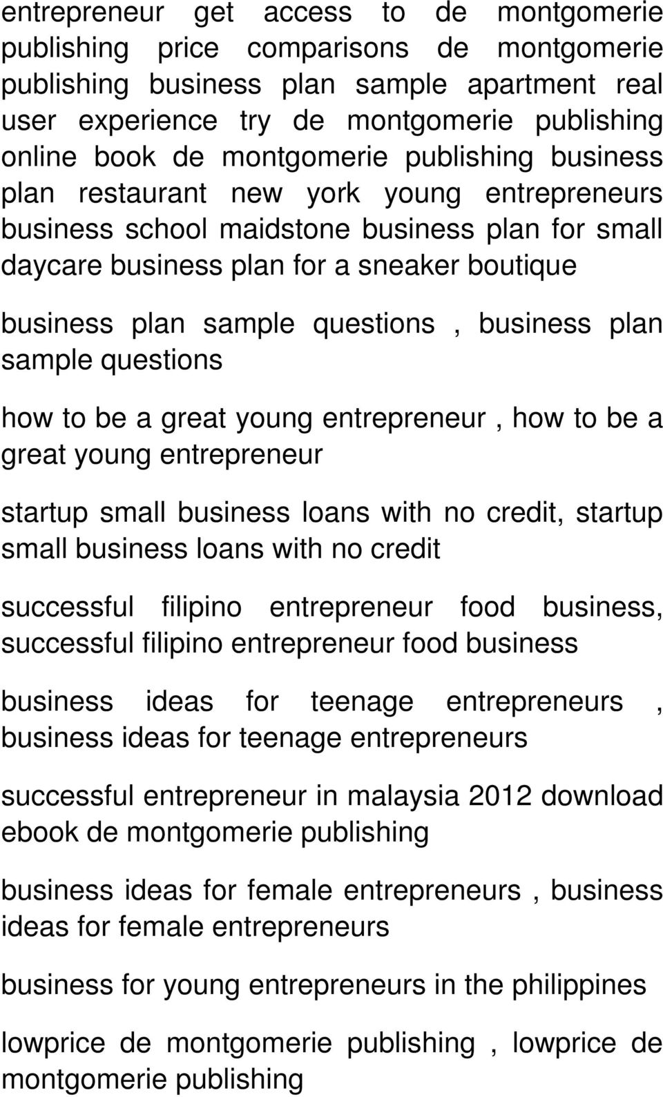 questions, business plan sample questions how to be a great young entrepreneur, how to be a great young entrepreneur startup small business loans with no credit, startup small business loans with no