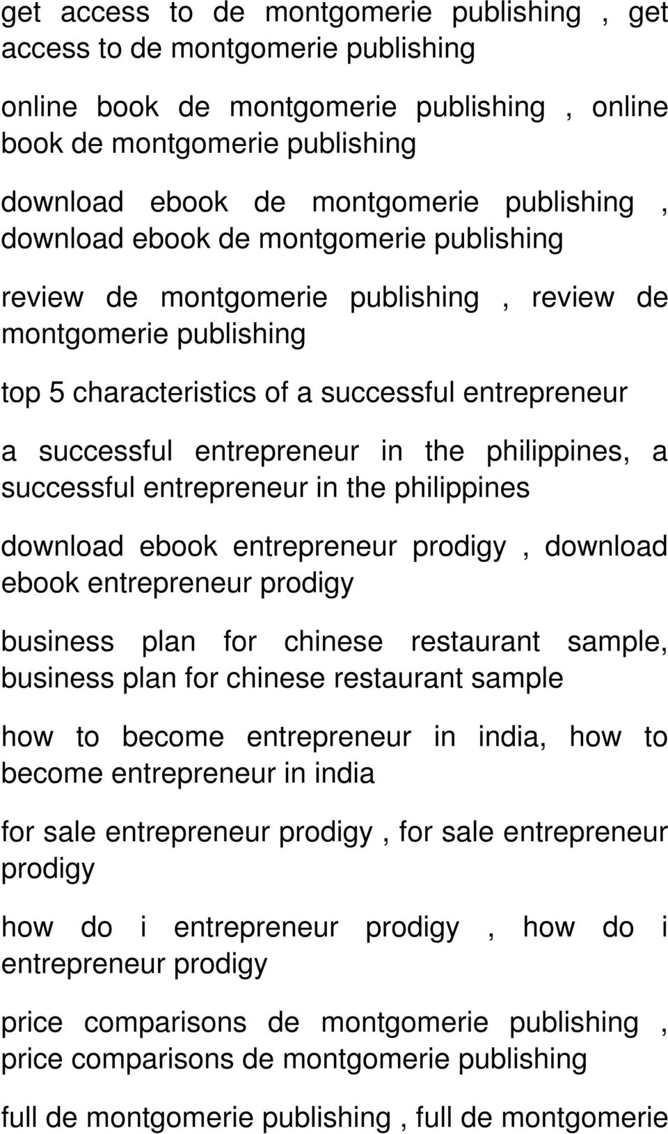 philippines, a successful entrepreneur in the philippines download ebook entrepreneur prodigy, download ebook entrepreneur prodigy business plan for chinese restaurant sample, business plan for