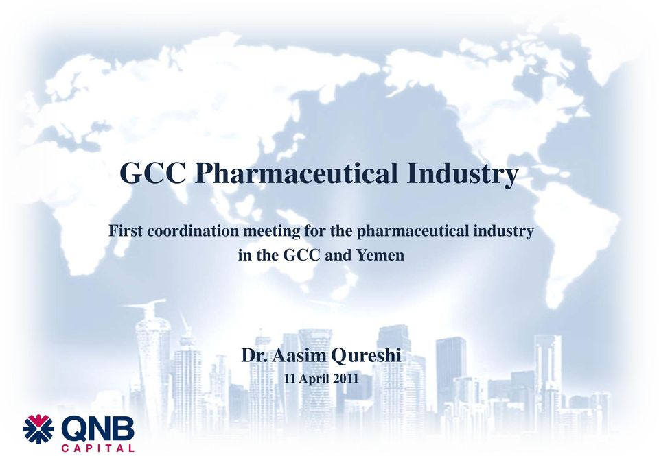 pharmaceutical industry in the GCC