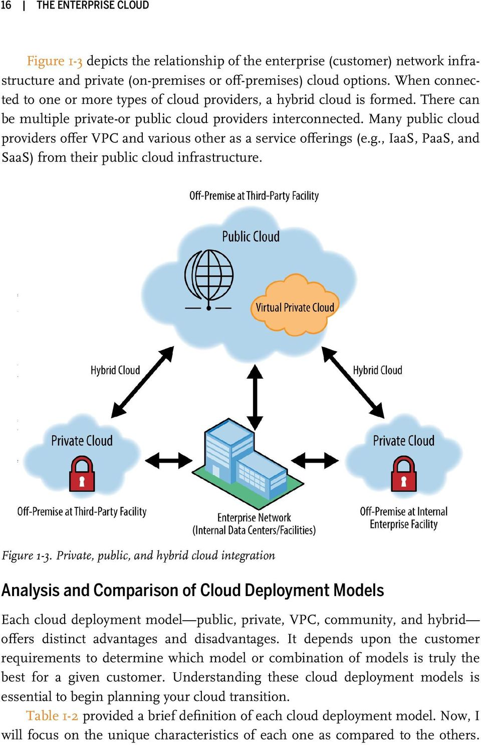 Many public cloud providers offer VPC and various other as a service offerings (e.g., IaaS, PaaS, and SaaS) from their public cloud infrastructure. Figure 1-3.