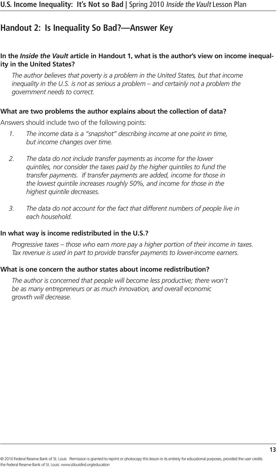 What are two problems the author explains about the collection of data? Answers should include two of the following points: 1.