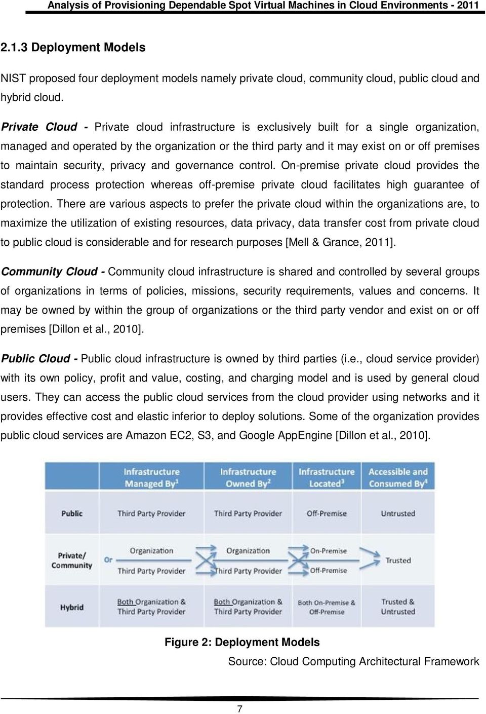 maintain security, privacy and governance control. On-premise private cloud provides the standard process protection whereas off-premise private cloud facilitates high guarantee of protection.