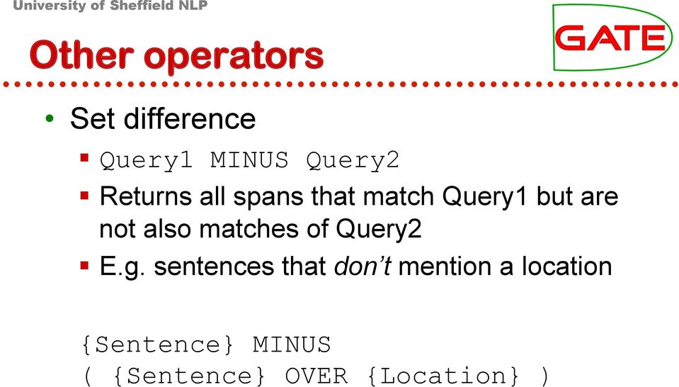 matches of Query2 E.g.
