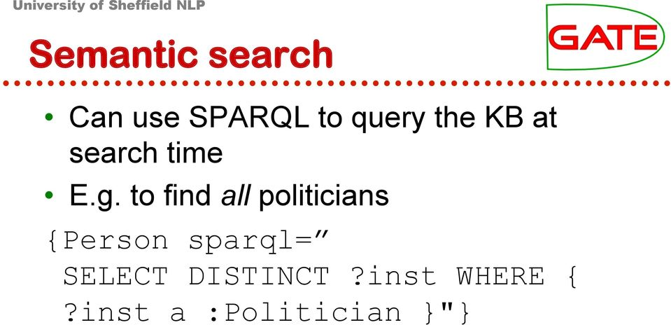 to find all politicians {Person sparql=