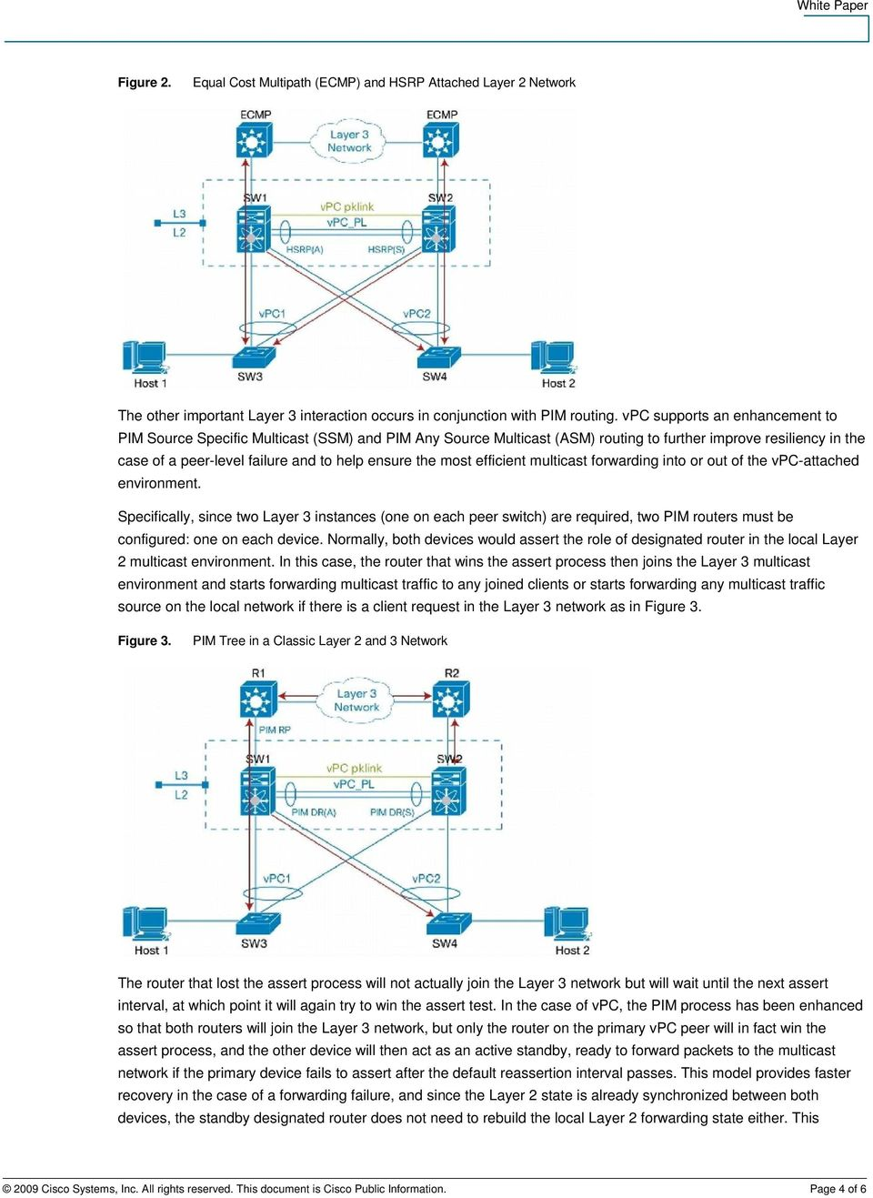 most efficient multicast forwarding into or out of the vpc-attached environment.