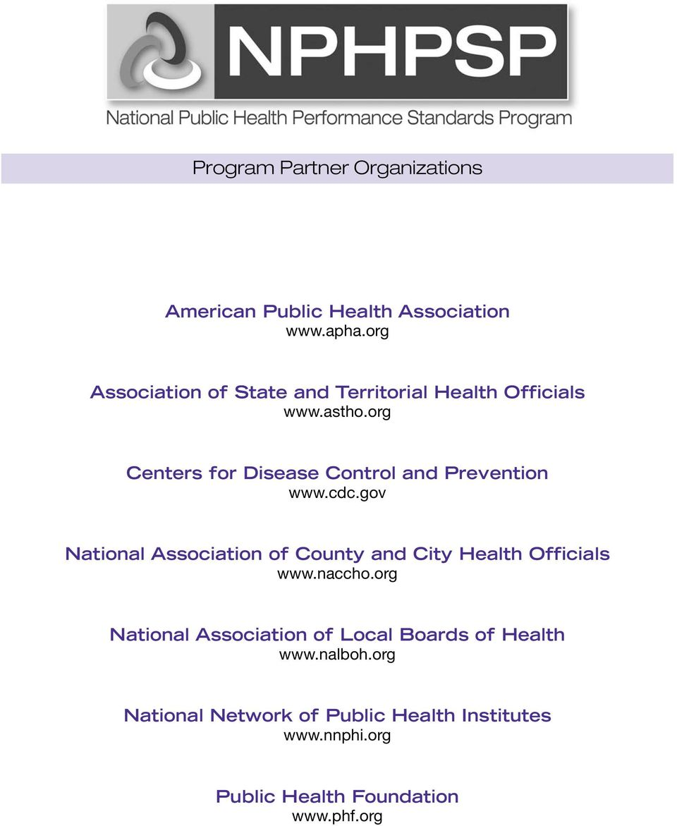 org Centers for Disease Control and Prevention www.cdc.