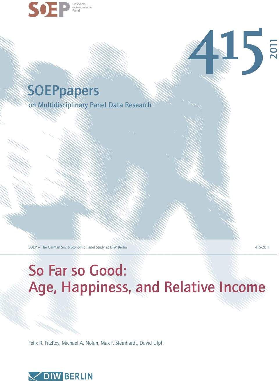 45-20 So Far so Good: Age, appiness, and Relative Income