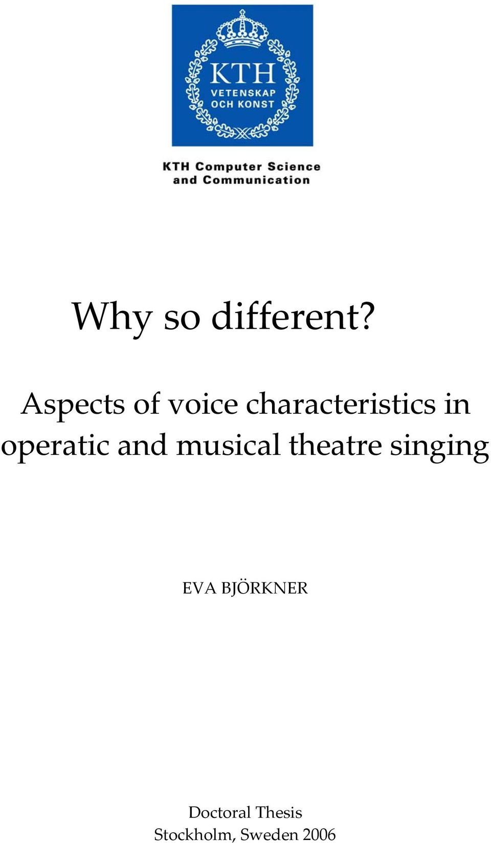 operatic and musical theatre