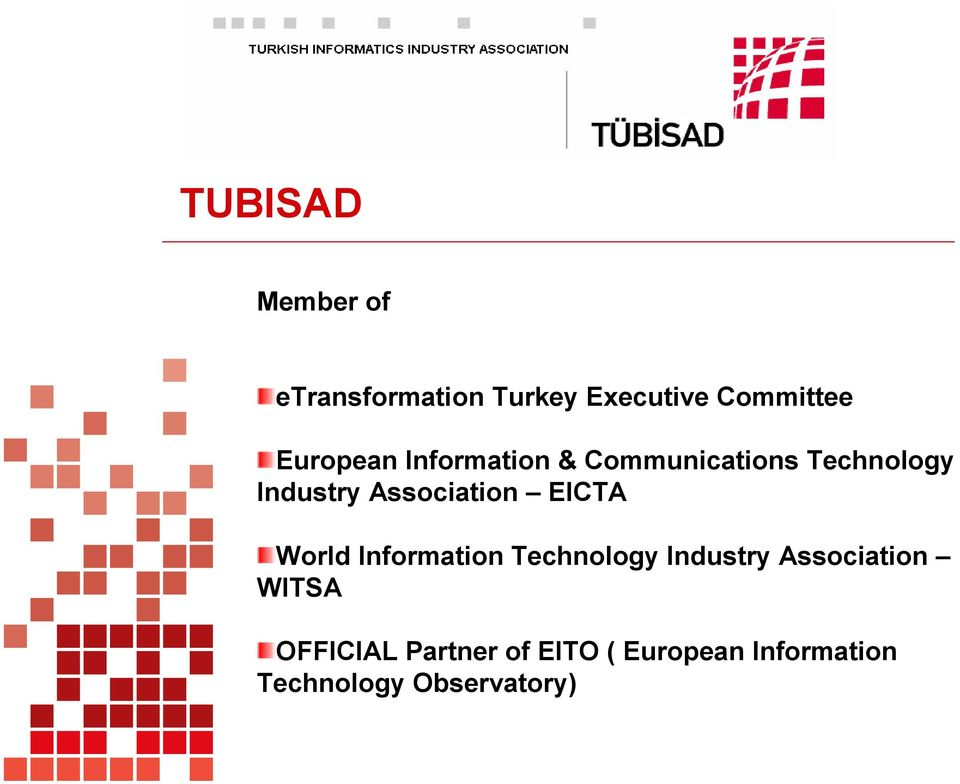 Association EICTA World Information Technology Industry