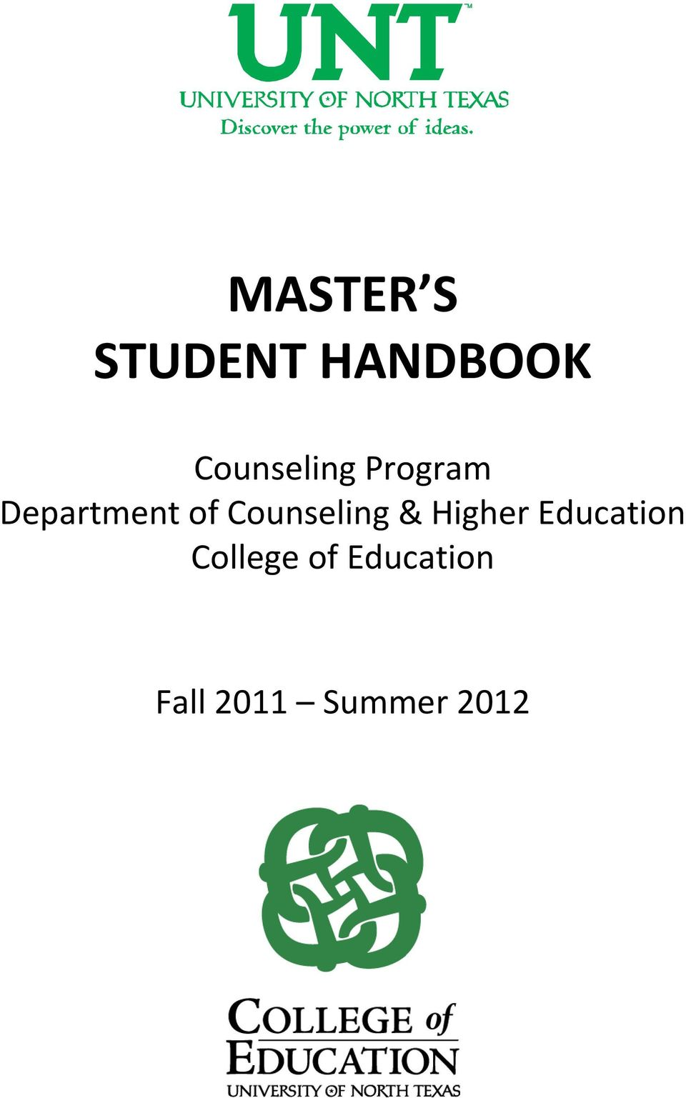 Counseling & Higher Education