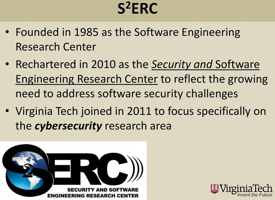 Center to reflect the growing need to address software security challenges