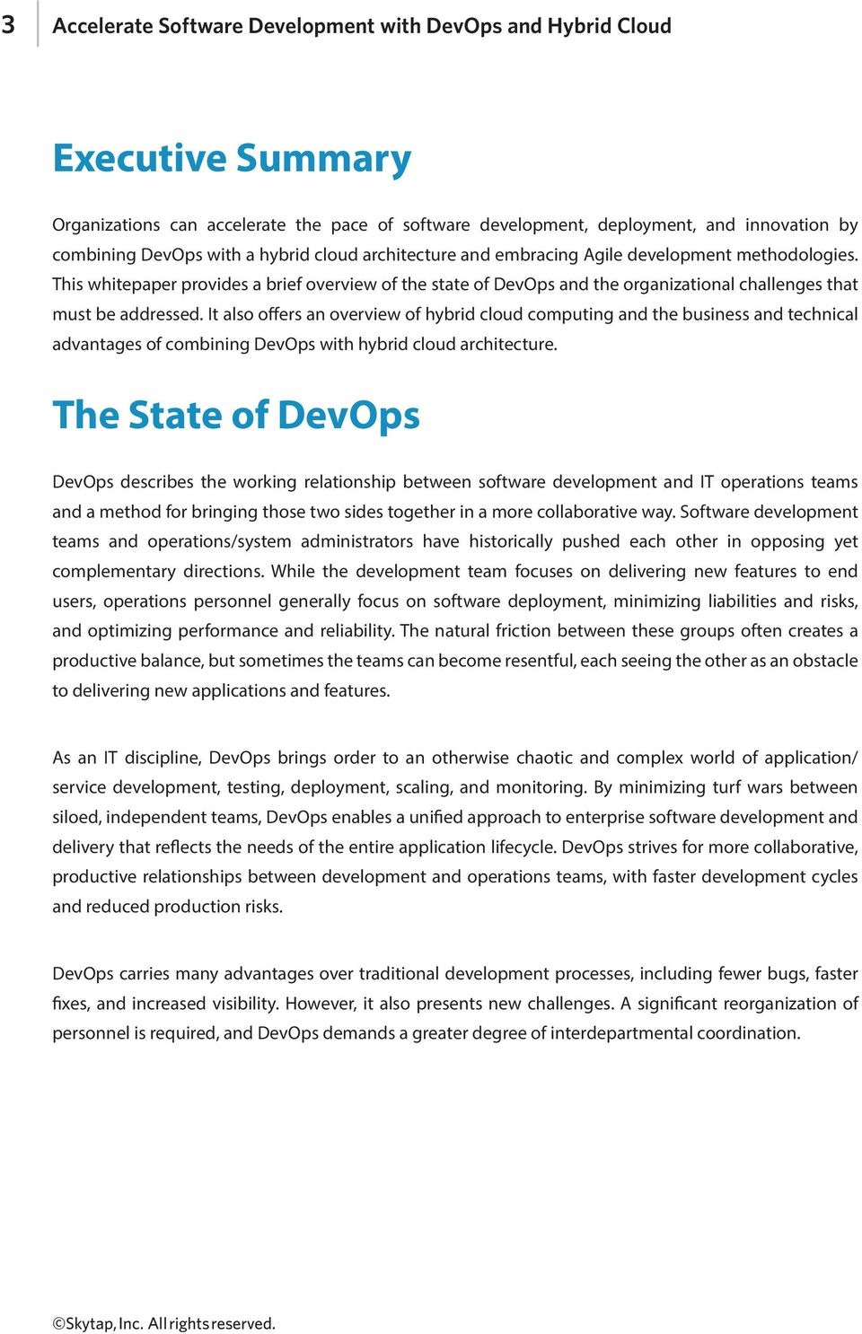 It also offers an overview of hybrid cloud computing and the business and technical advantages of combining DevOps with hybrid cloud architecture.