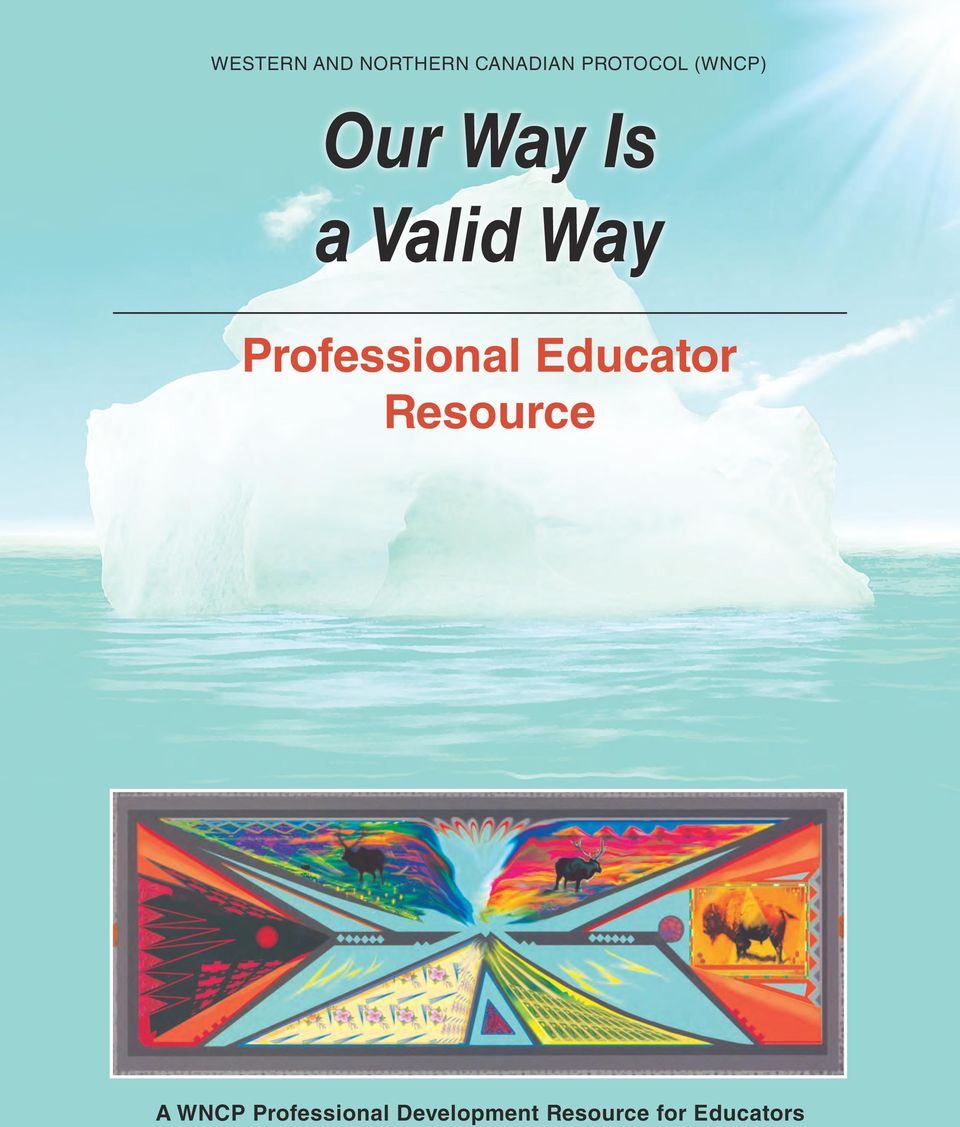 Professional Educator Resource A WNCP