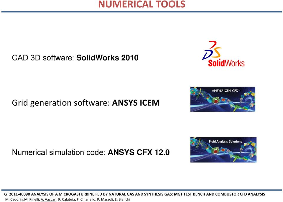 generation software: ANSYS ICEM