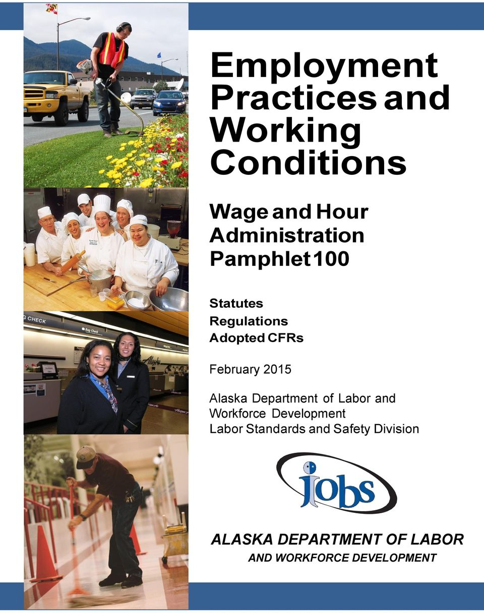 February 2015 Alaska Department of Labor and Workforce Development