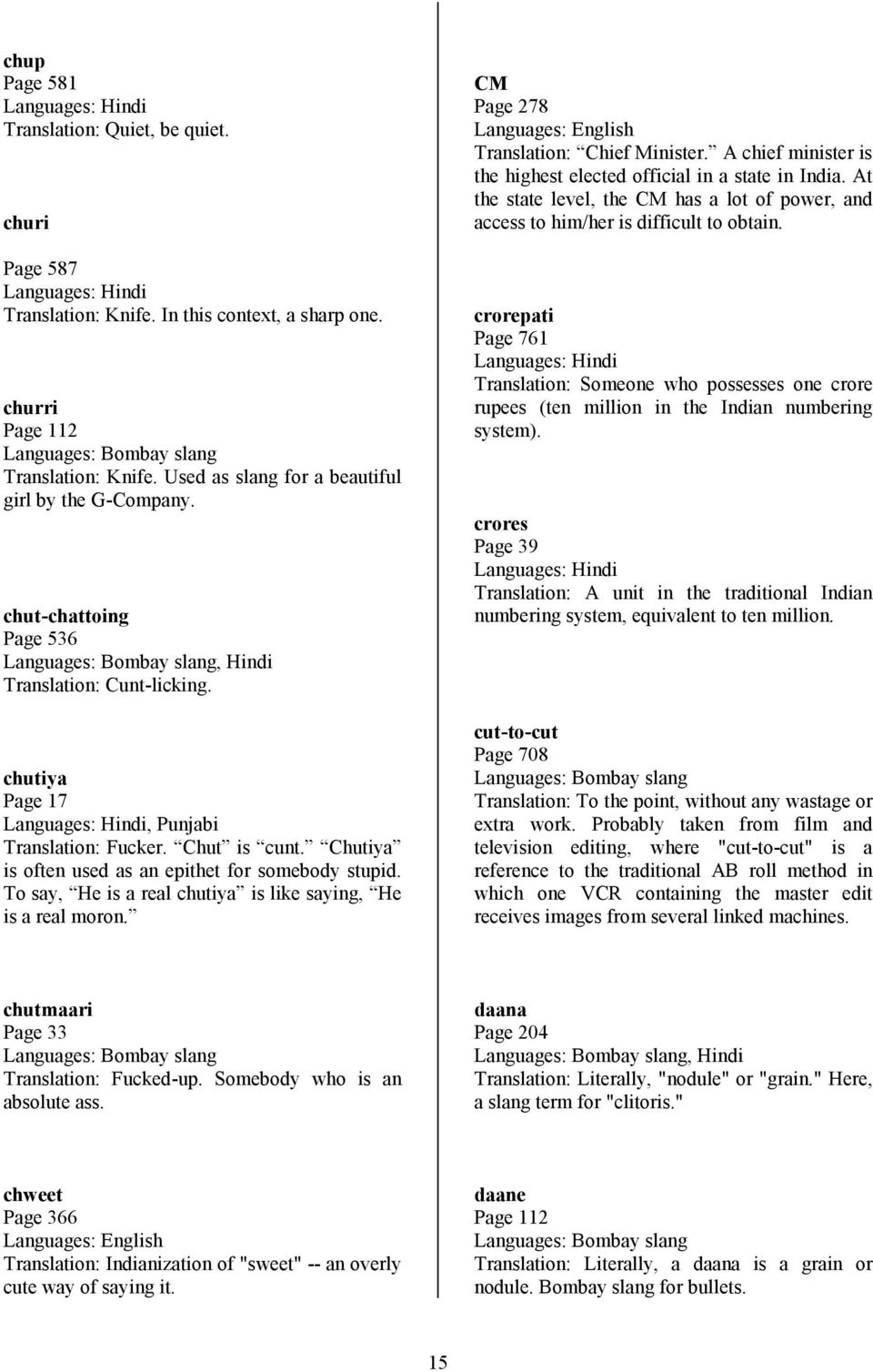 Glossary For Sacred Games Updated July 6 Pdf Free Download