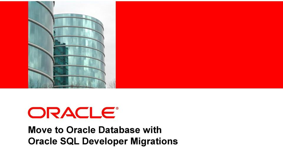 Database with Oracle