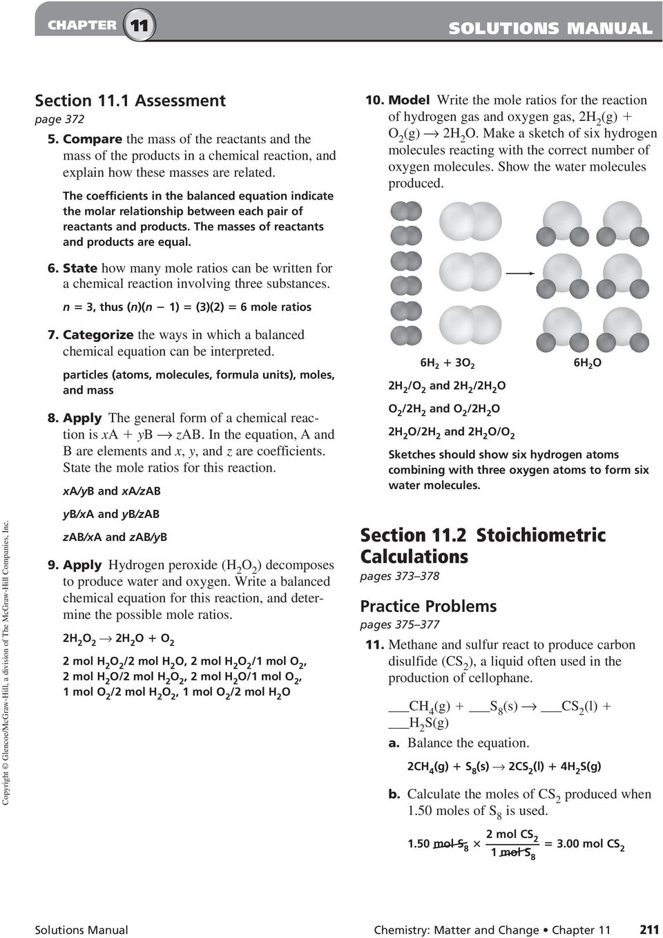 Mole Ratio Worksheet Answers Pogil - Worksheets for Education