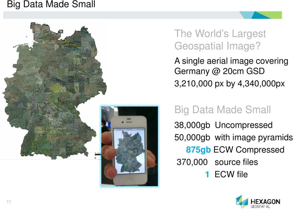 4,340,000px Big Data Made Small 38,000gb Uncompressed 50,000gb