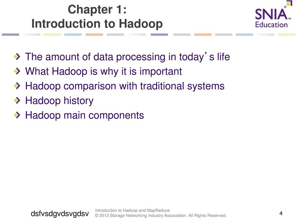 important Hadoop comparison with traditional systems