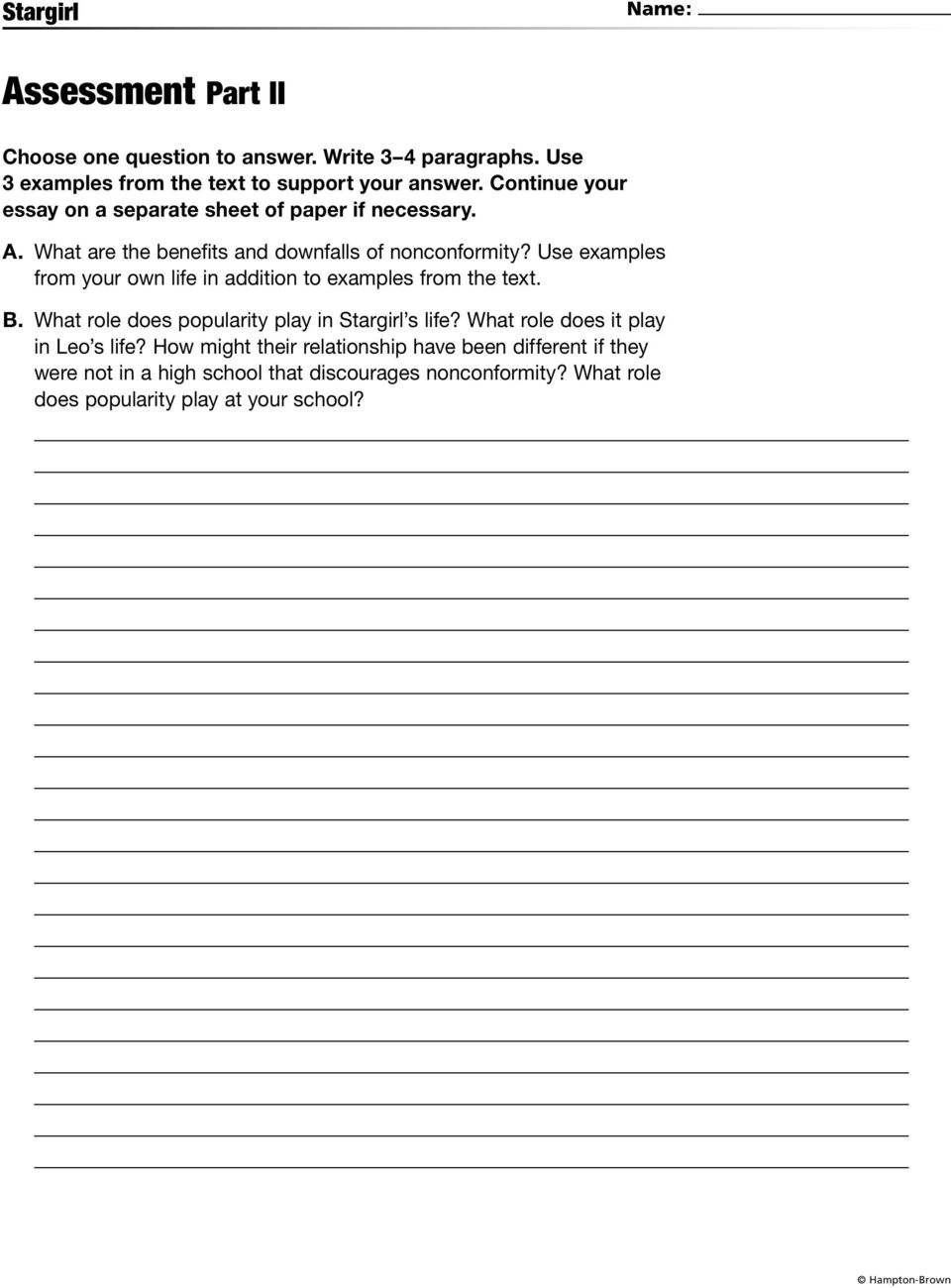 popularity at school essay Essay form means popularity high school essays tyra banks introduce yourself essay in spanish accents essay for scholarship financial need questions and answers.