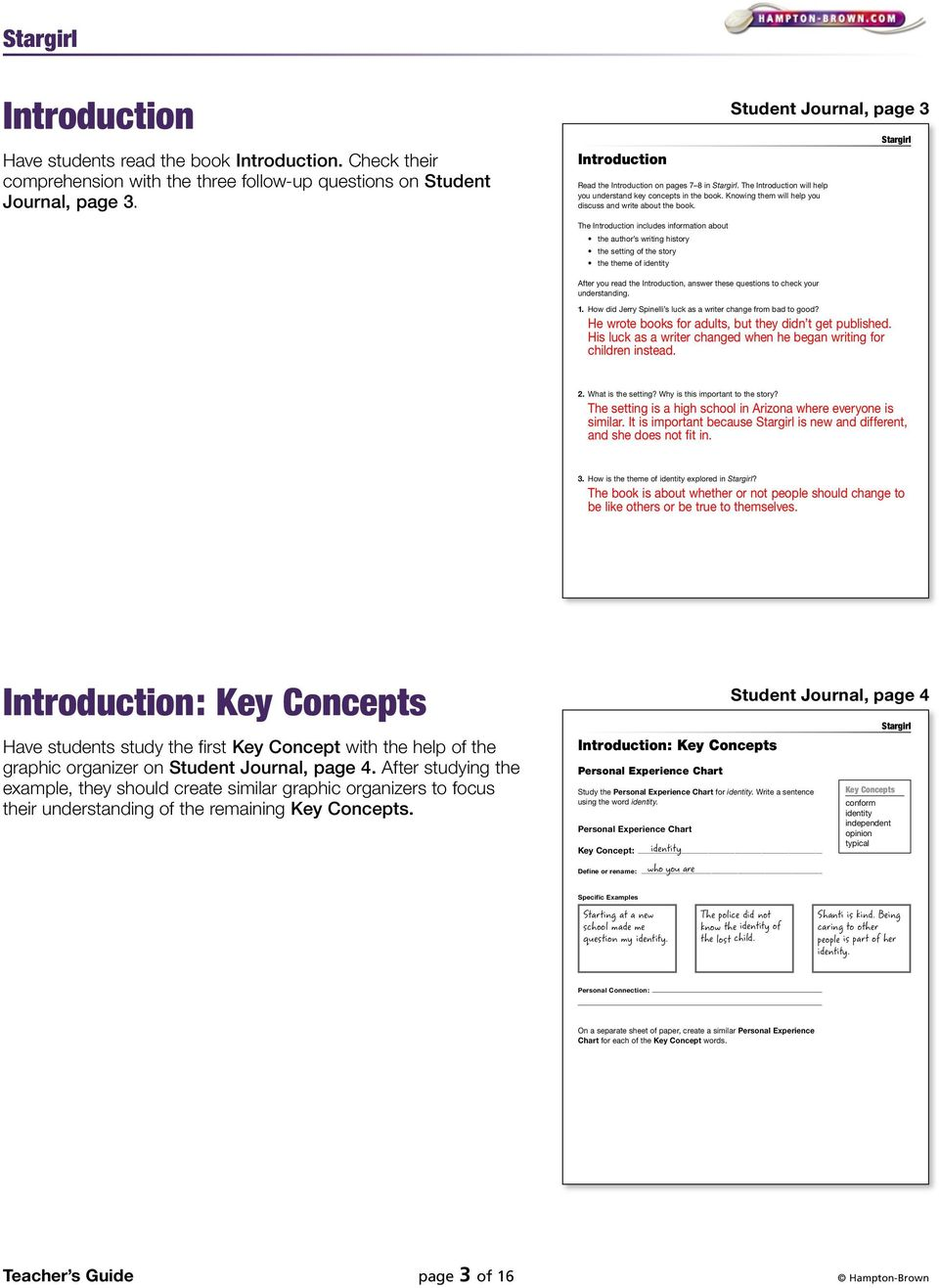This site contains all about Hampton Brown Monster Student Journal Guide  Answers PDF.