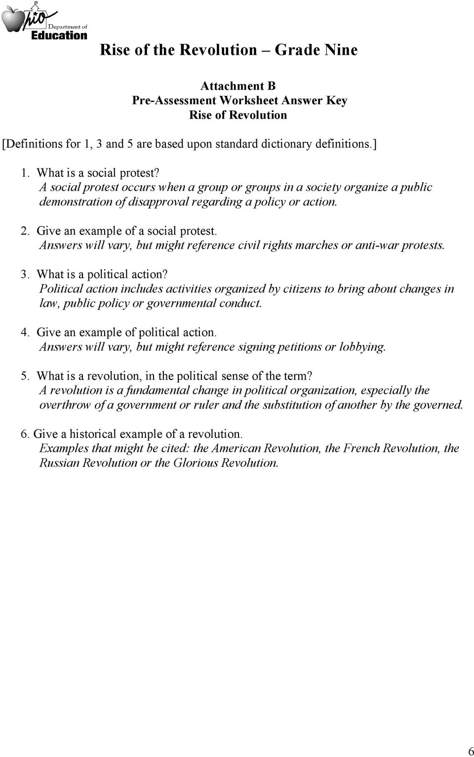 french revolution worksheets Termolak – French Revolution Worksheets