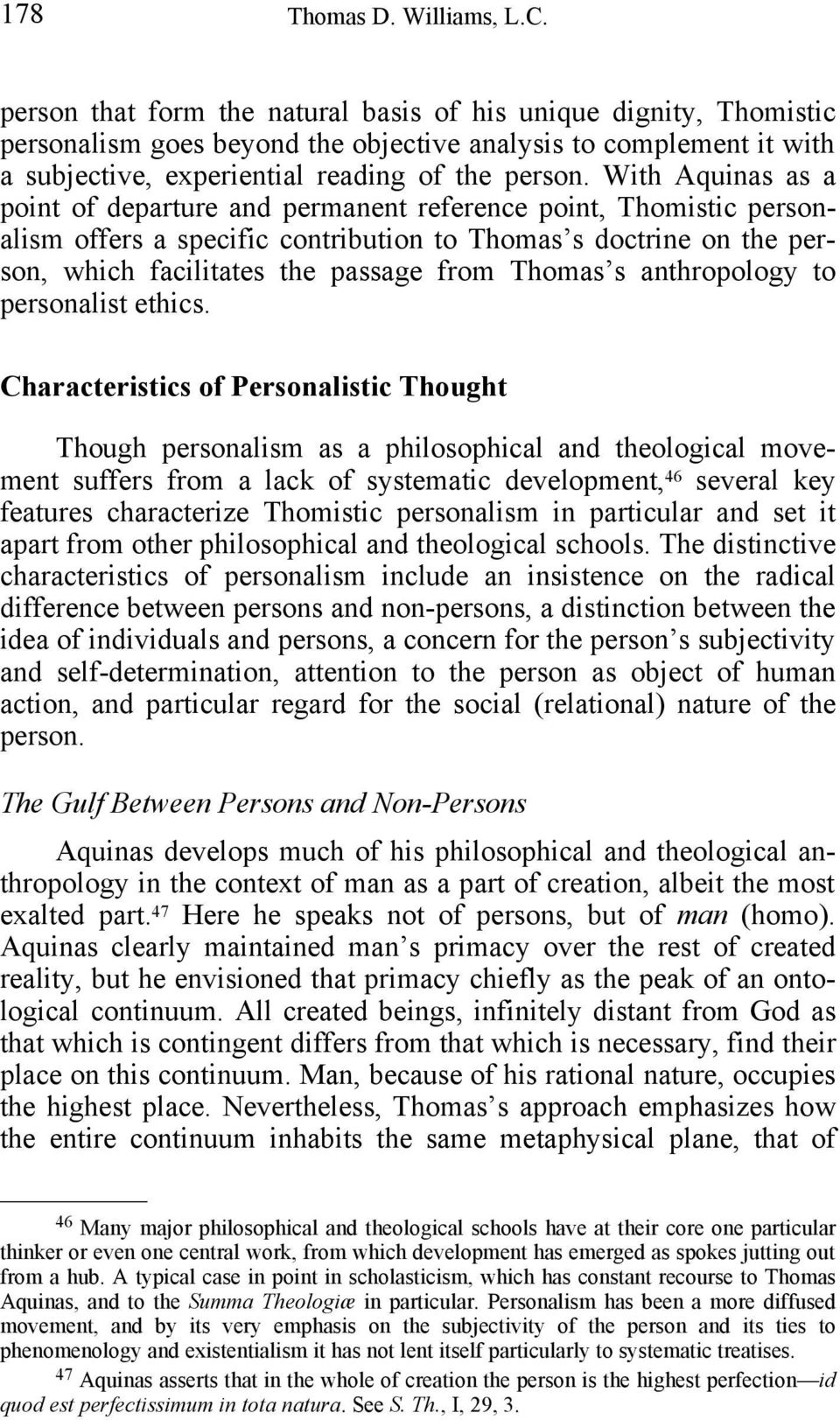 s anthropology to personalist ethics.