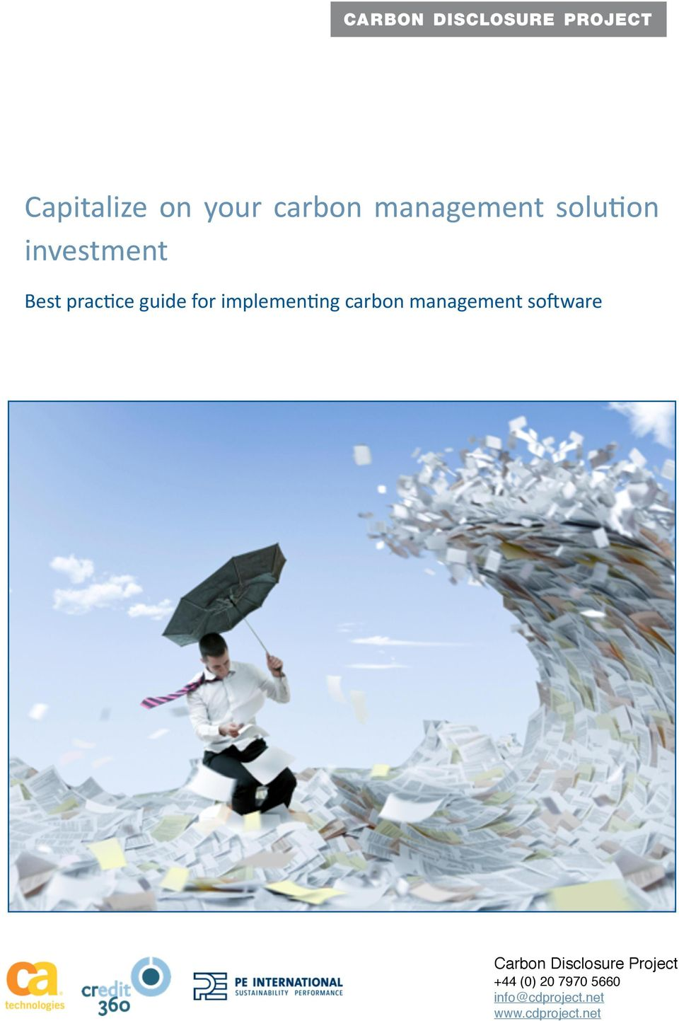carbon management so9ware Carbon Disclosure