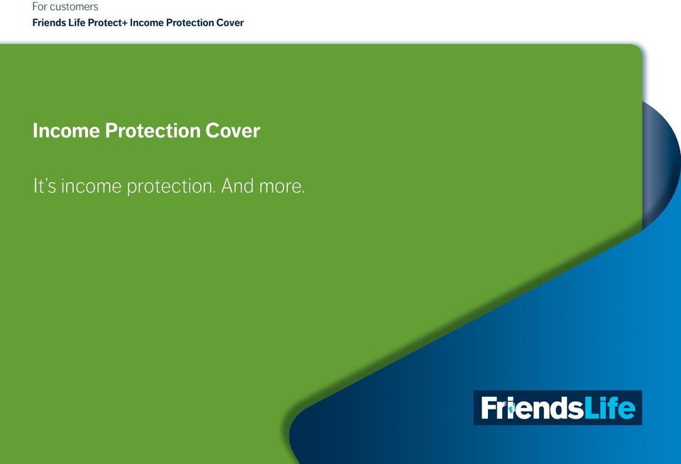 Cover Income Protection Cover