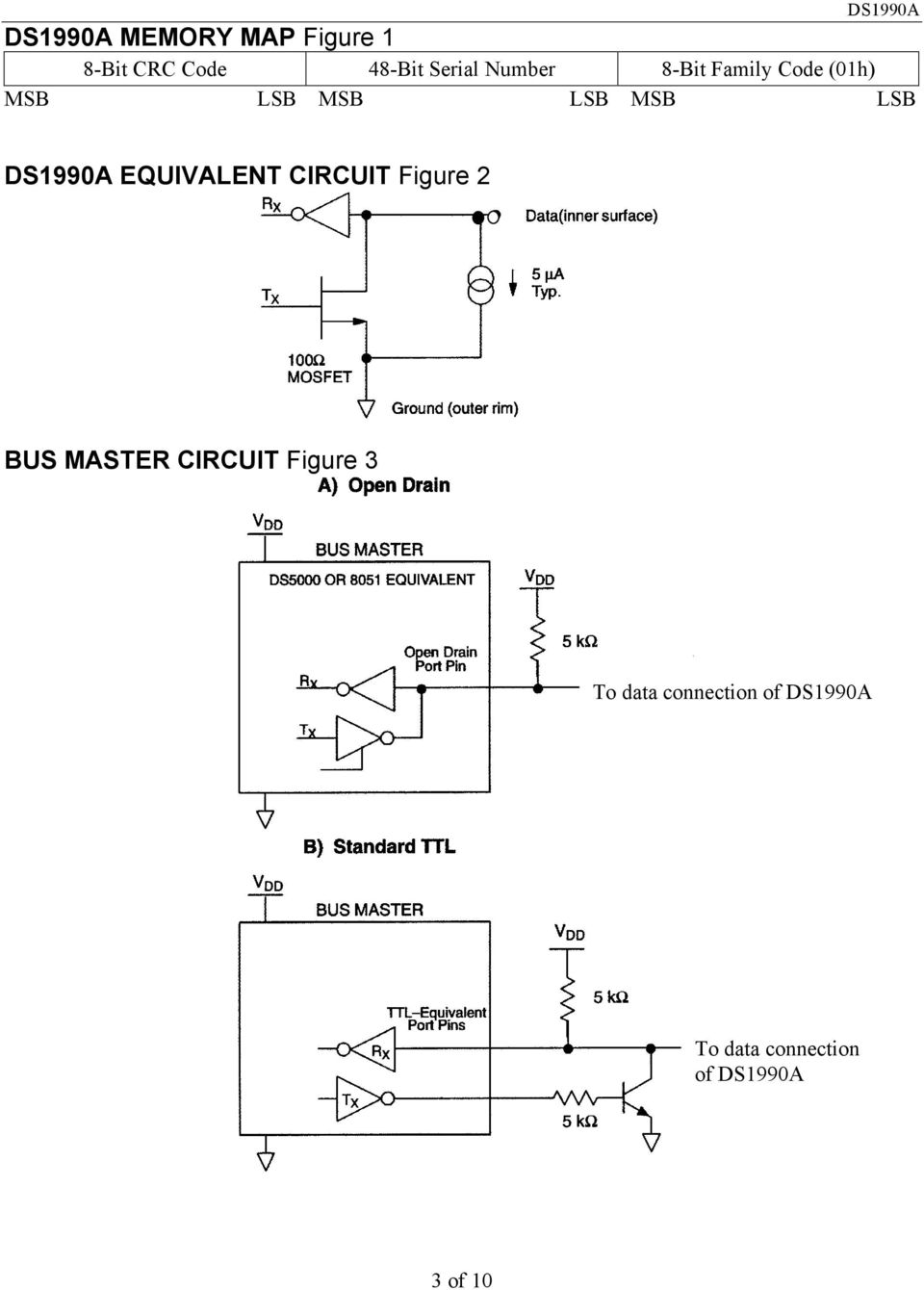 LSB EQUIVALENT CIRCUIT Figure 2 BUS MASTER CIRCUIT