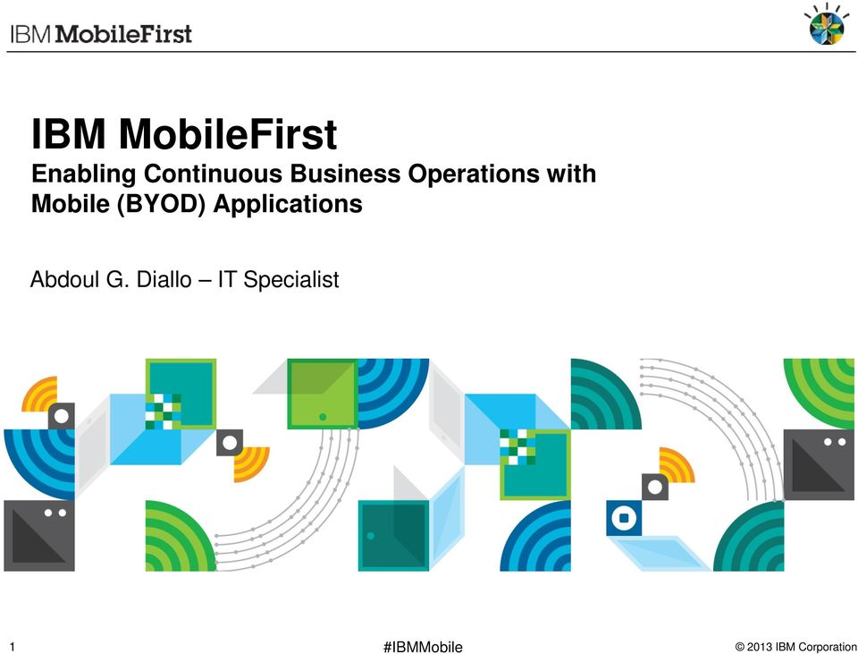 with Mobile (BYOD) Applications
