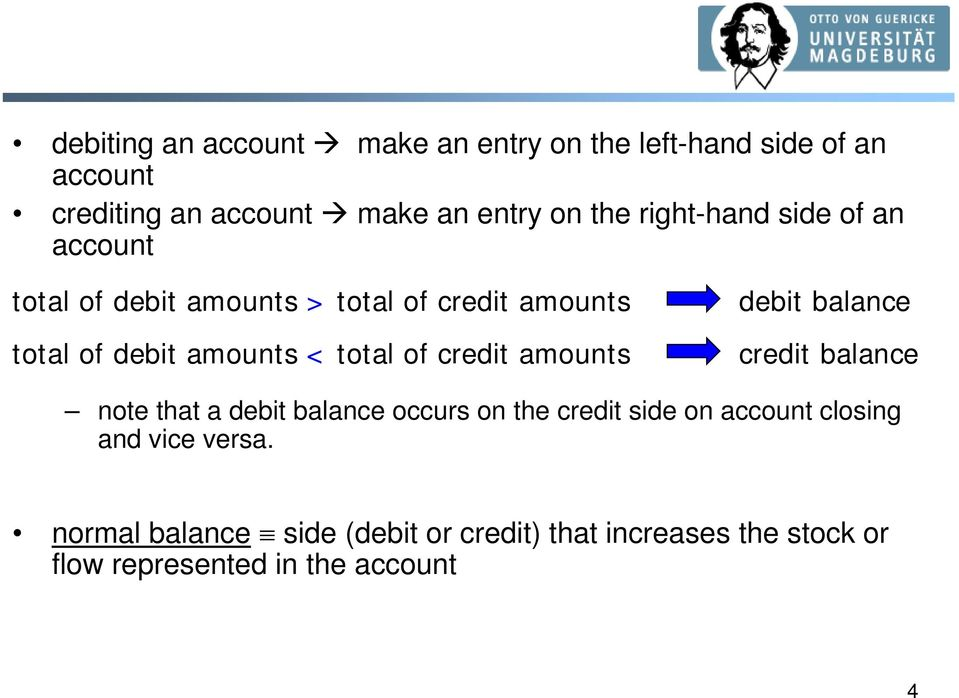 credit amounts debit balance credit balance note that a debit balance occurs on the credit side on account