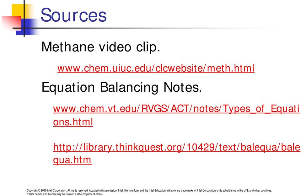 html edu/clcwebsite/meth html Equation Balancing Notes.