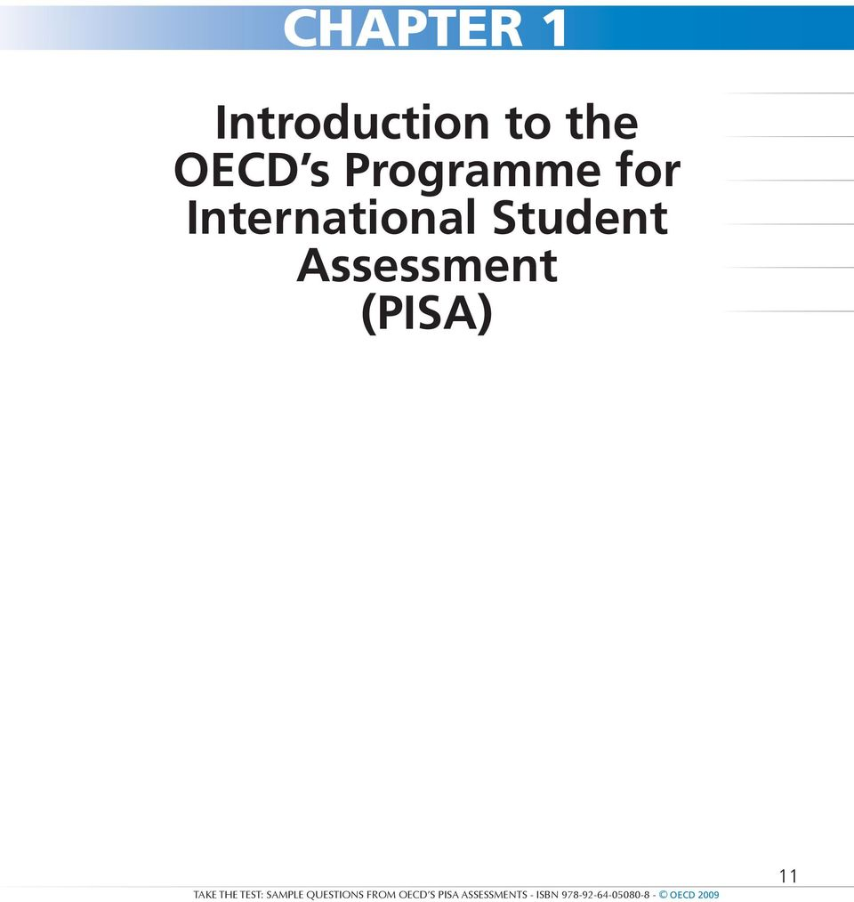Take the Test. Assessments. Programme for International Student Assessment  - PDF