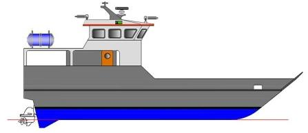 Keltic 1400 Landing Craft Personnel Carrier 1500