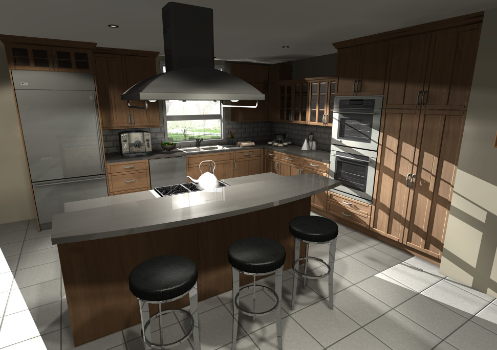1. Photorealistic Renderings and Visualization Lighting Enhancements With the Global Illumination technology, obtain photorealistic renderings with superior graphics and unrivalled presentation