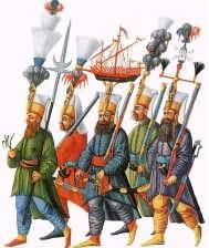 The Janissaries Group of soldiers loyal to the sultan (king) Army of slaves & Christian