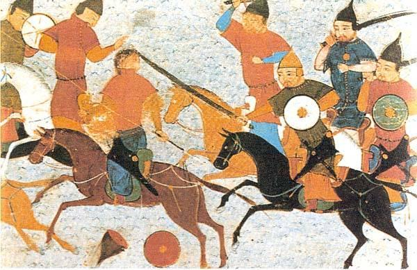 By 1215, foreign invaders (Mongols from eastern Asia) took over the