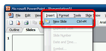 Manually Creating New Slides This lesson will show you how to manually create new slides from within PowerPoint Method 1 - Right-click in the slide list panel In the slide list pane, right-click and