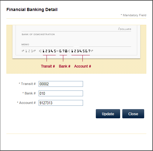Submit A Claim Be sure to enter the correct banking details as shown on the bottom of your cheque.