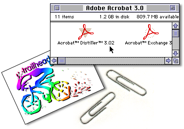 4 Adobe Acrobat Distiller 3.0.