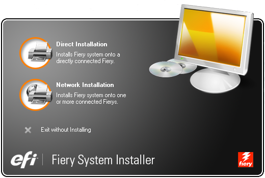 3. Follow steps 1 through 5 of the procedure To install system software over the network port in the Installation and Service Guide. 4.