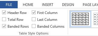 Check the Header Row check box for the First Column and/or First Row. 4. Type (or retype) your column headings. WORD 2010 FOR WINDOWS HEADERS TOOL 1.