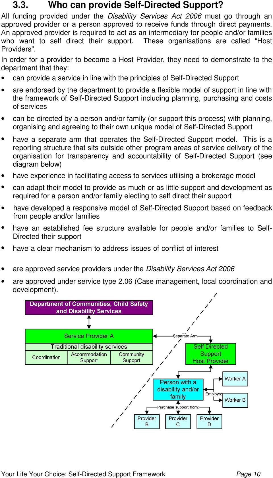An approved provider is required to act as an intermediary for people and/or families who want to self direct their support. These organisations are called Host Providers.