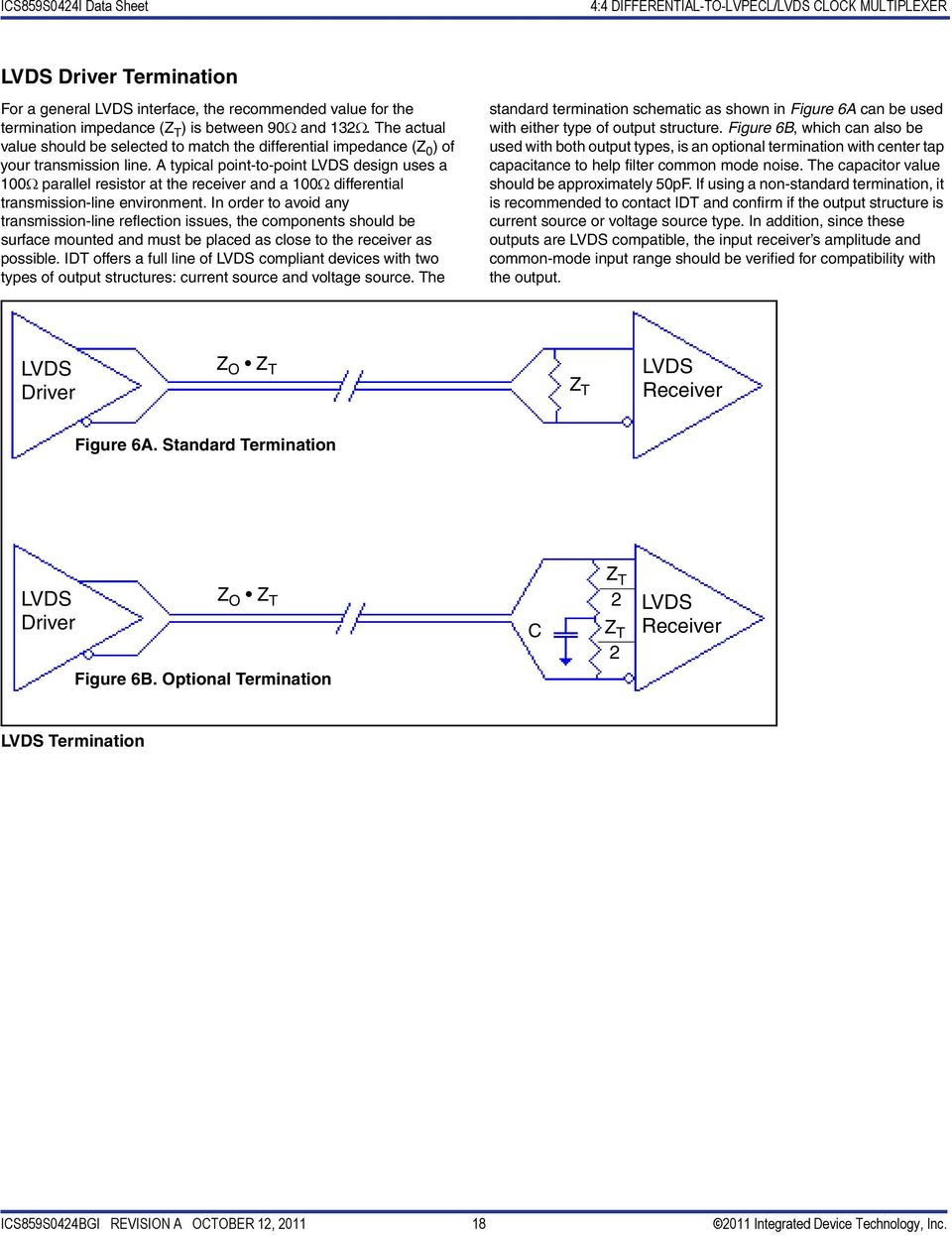 4:4 Differential-to-LVPECL/LVDS Clock Multiplexer - PDF