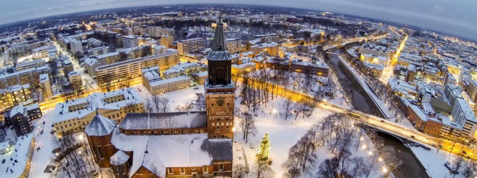 A cultural hub of old and new Finland s only medieval cathedral, The Turku Cathedral, was