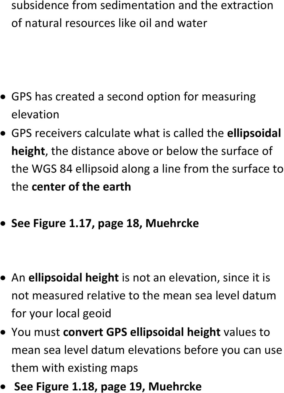 the earth See Figure 1.